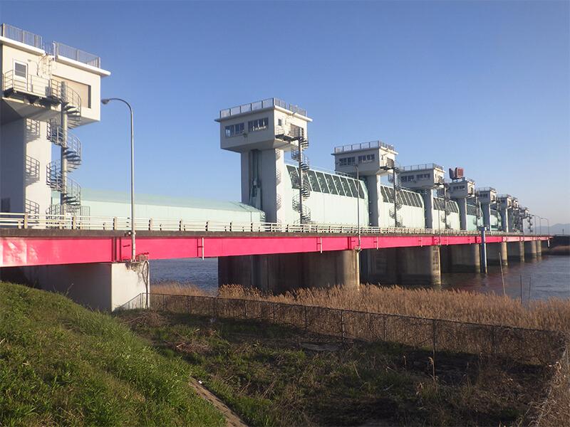 六角川河口堰管理橋
